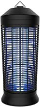 White Kaiman Extra Large Bug Zapper and Mosquito Killer Indoor and Outdoor with On/Off Light Sensor (Large Zapper)