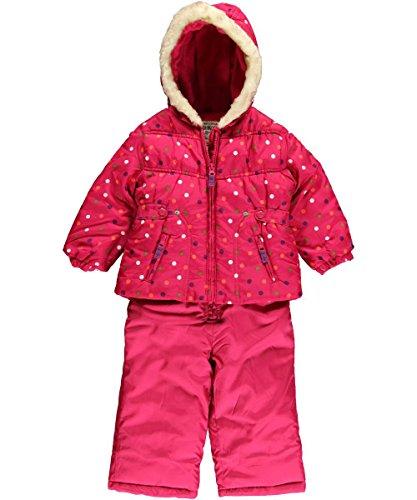 OshKosh 74/80 Schneeanzug Schneehose + Winterjacke US Size 12 Month pink