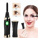 Rotekt USB Portable Electric Heated Eyelash Curler Long Lasting Natural Eye Lashes Curling Tool