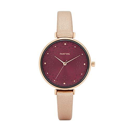 Parfois - Reloj Casual Rose Gold Tray - Mujeres - Tallas Única - Dorad