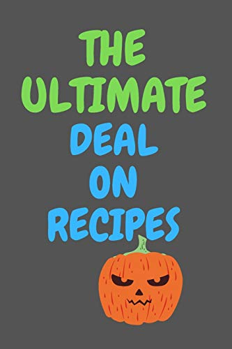Best Prices! The Ultimate Deal On RECIPES: All Purpose  Recipes  6x9 Blank Lined Formated Cooking N...