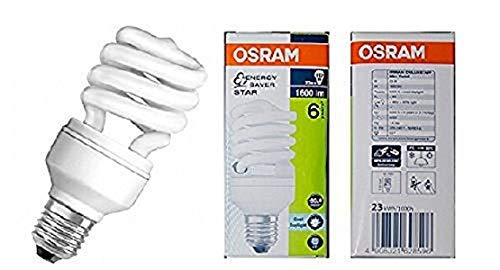 OSRAM Bombilla Bajo Consumo Mini Espiral 23W=112 E27 Luz Fría