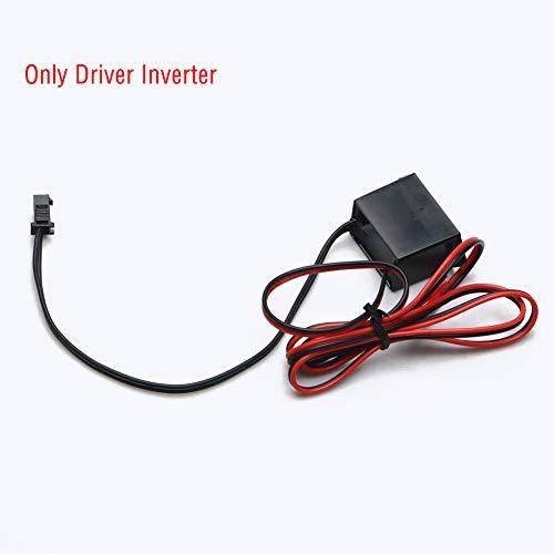 EBILUN Mini DC12V Wechselrichter DC-Regler für EL Wire/Tape/Panel Elektrolumineszenz-Controller
