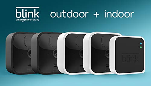 All-new Blink Outdoor and Indoor – wireless, HD security cameras with...