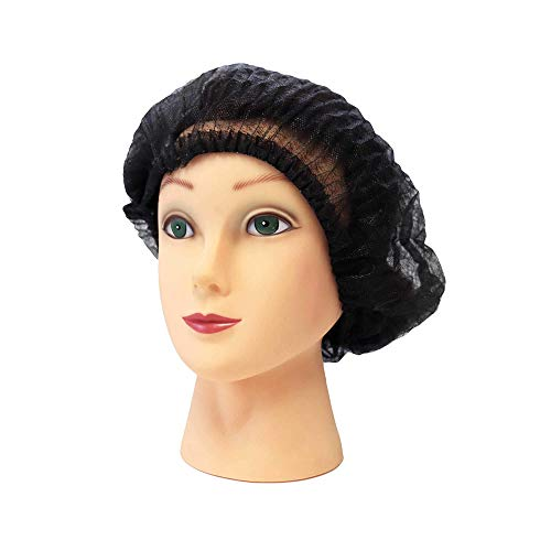 Disposable Bouffant Caps 1000 Pcs (Blue),21 inches Hair Net, Elastic Dust Cap for Food Service, Sleeping Head Cover, Medical