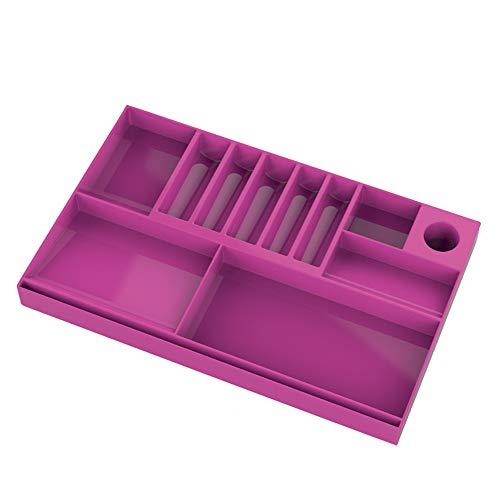 organizador de gavetas rosa, Waleu