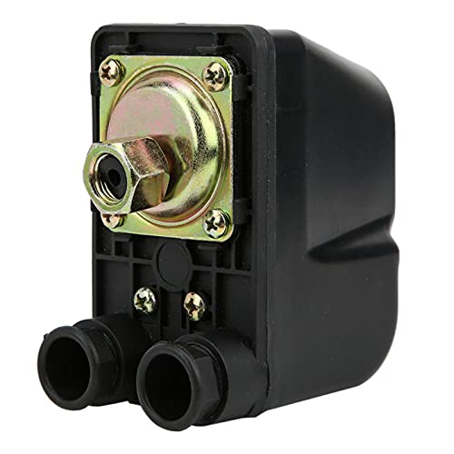 Controlador de bomba de agua, interruptor de control de agua, control totalmente automático, perfecto para bombas de jardín, bombas de agua, etc.