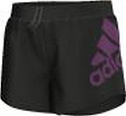 Pantalon Adidas Corto YG AIS Log Negro 116 cm(6 años) Negro