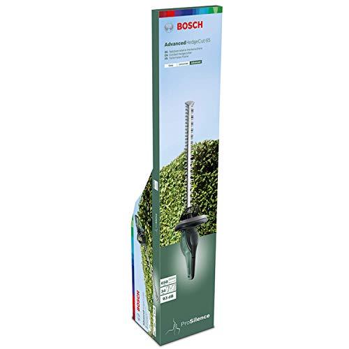 Taille-haies Bosch - AdvancedHedgecut 65 (500 W, longueur de lamier : 65 cm, pour grandes haies, capacité de coupe : 34 mm, dans carton)