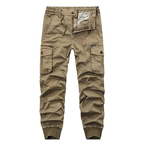Preisvergleich Produktbild nobrand Herbst Männer Militär Cargohose Baumwolle Casual Camouflage Jogginghose Jogger Hose