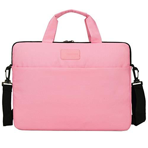 """Laptoptasche Aktentaschen Handtasche Tragetasche Schulter Tasche Notebooktasche Laptop Sleeve Laptop hülle,Rosa,13\"""" (36 * 26 * 3) cm"""