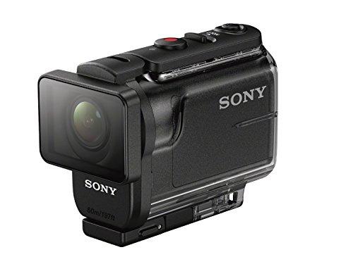 Sony HDR-AS50 Action Cam (3-fach Zoom, SteadyShot Bildstabilisation, Wi-Fi, mit 60 m Unterwassergehäuse) schwarz