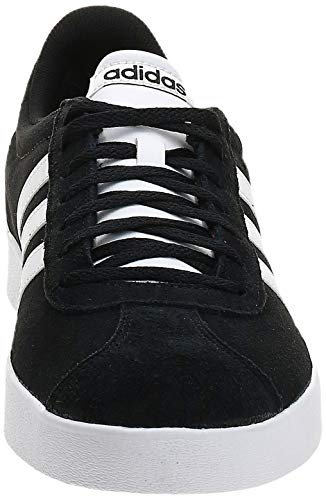 adidas VL Court 2.0', Zapatillas Hombre, Negro (Core Black/FTWR White/FTWR White Core Black/FTWR White/FTWR White), 42 EU