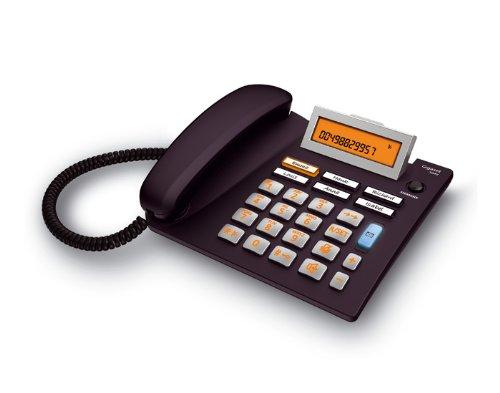 Gigaset Euroset 5040 Handy -Schnurgeb&es Handy / Schnurtelefon - extra großer Bildschirm - Freisprechen - Große Tasten Handy / Analog Handy, schwarz