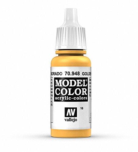 Vallejo Model Color Pintura Acrílica, Dorado (Golden), 17 ml