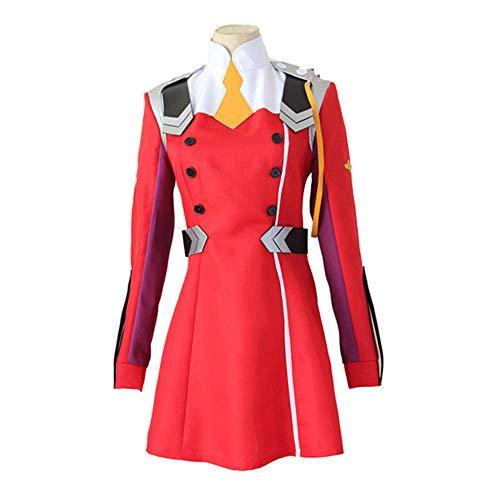 Anime Darling im FRANXX Cos HIRO Ichigo Null Zwei Miku Kokoro Schuluniform Cosplay Kostüm Sets Halloween Anzug Outfit