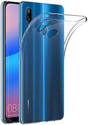 AICEK Coque Huawei P20 Lite, Transparente Silicone Coque pour Huawei P20 Lite Housse Silicone Etui Case (5,84 Pouces)