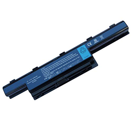 Uniamy Laptop Replacement AS10D31 AS10D75 AS10D81 Battery For Acer Aspire AS5741 E1-421 E1-431 E1-571 V3-471G V3-551 V3-571 V3-771G, TravelMate 5335 5542 5542G 5735 5735G 5735Z