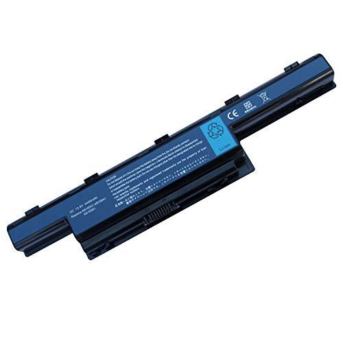 Uniamy Laptop Replacement AS10D3E AS10D61 Battery For Acer Aspire 4755 4755G 5250 5252 5253G 5333 5349 4752G 4752Z 5551G 5552G 5560 V3 5741ZG 5742ZG, eMachines E530 E640 E642