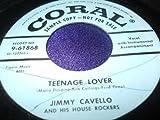 Teenage Lover b/w Yo-Yo Baby by Jimmy Cavello & His House Rockers (45 RPM)