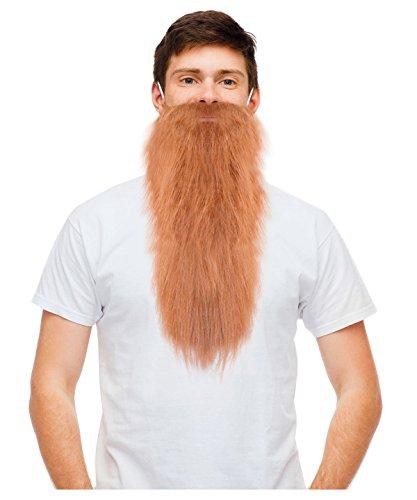 Blonde Hillbilly Beard ZZ Beard Fake Beard Dwarf Beard Long Beard Costume