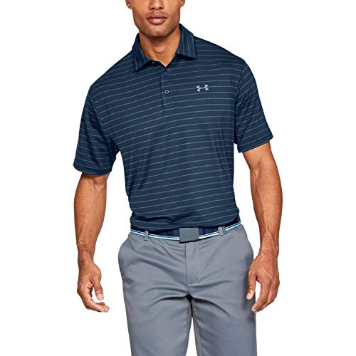 Under Armour Playoff 2.0 Camisa Polo MD Hombre Azul