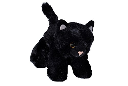 Wild Republic 18089, Black Hug'ems Plush, Cat Cuddly Soft Toy, Gifts for...
