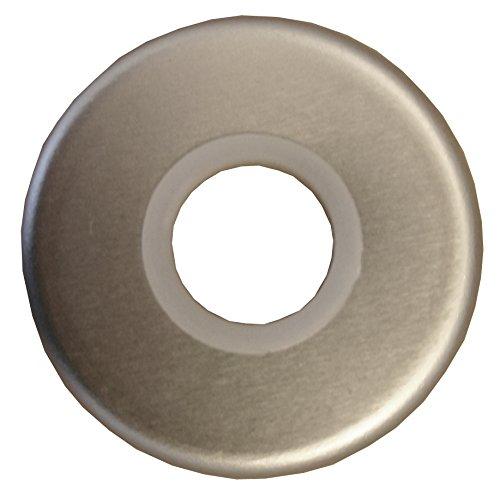 Alpertec 40360070K1 Aluminium Drückerrosette Ø 50 mm für Drückerpaare silber eloxiert Drückergarnitur Türdrücker Türbeschläge Neu