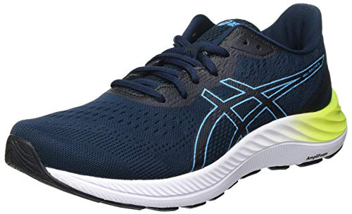 Asics Gel-Excite 8, Road Running Shoe Hombre, French Blue/Digital Aqua, 42.5 EU
