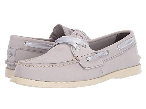 Sperry Womens Conway Boat Flats Casual - Grey - Size 9 B