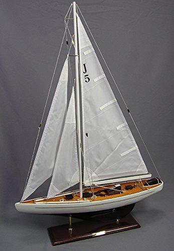 Yachtmodell Ranger Segelschiffmodell Dekoyacht Modellschiff Schiffsmodell