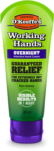 O'Keeffe's Working Hands Overnight, 80 ml
