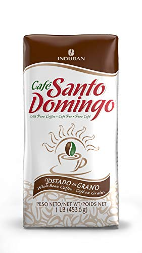 Santo Domingo Coffee, 16 oz Bag, Whole Bean Coffee - Product from the Dominican Republic