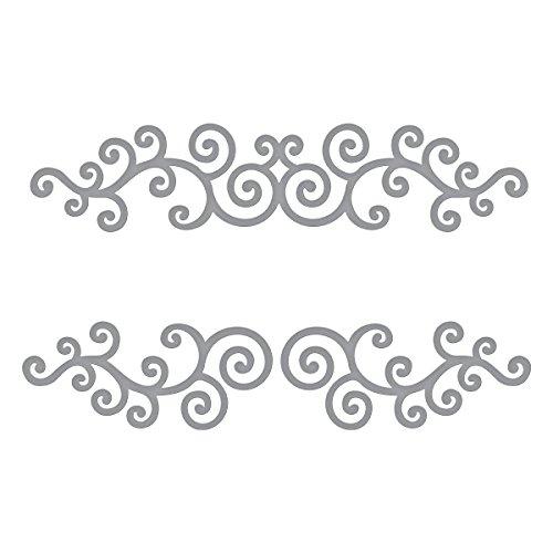 Spellbinders - Troquel (metal, 8,7 x 4,14 cm)
