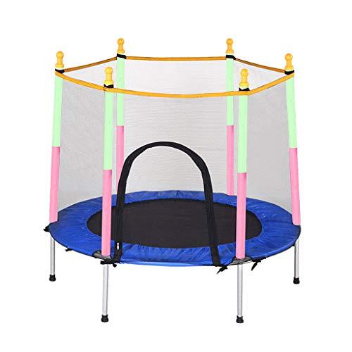 Trampoline, fitness, opvouwbaar, 150 cm, geschikt voor binnen en buiten, geschikt voor kinderen en volwassenen vanaf 3 jaar, draagkracht: 150 kg.
