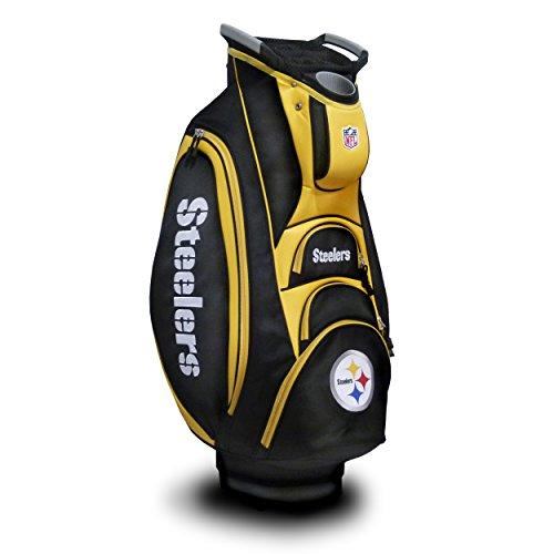 Team Golf NFL Pittsburgh Steelers Golf Cart Bag