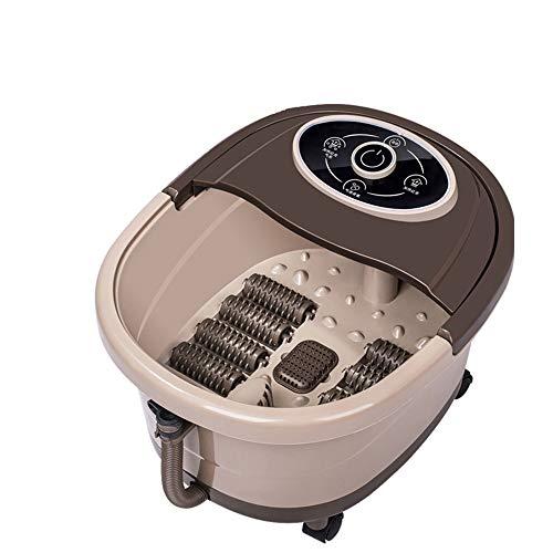 Bains De Pieds Appareil De Massage Chauffant Massage Pieds Spa ,Roller Masseur Pieds Bassin Relaxation à la Maison et au Bureau