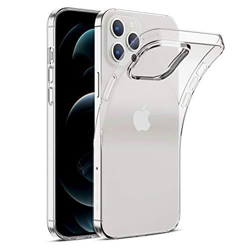 Arktis transparente Handyhülle, TPU-Case kompatibel mit iPhone 12 Pro Max [kabelloses Laden] Schutzhülle Silikonhülle