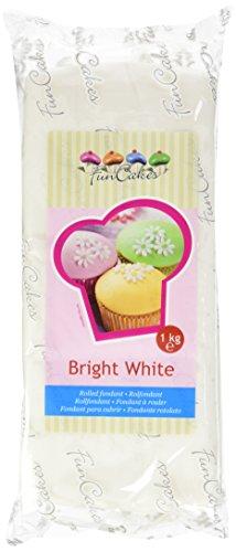 FunCakes Pasta di Zucchero Bianca  - pacco da 1 Kg