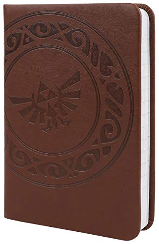 The Legend of Zelda Notizbuch Triforce A6 10,5 x 15 cm