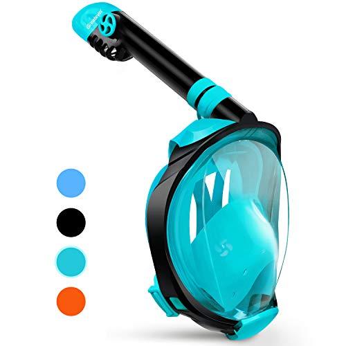 Greatever Newest Version Snorkel Mask