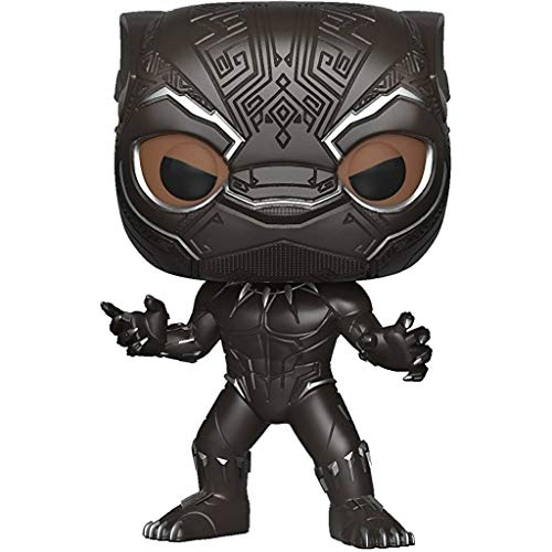 Funko POP!: Marvel: Black Panther: Pantera Negra