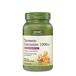 top rated GNC Herbal Plaster Merrick Curcumin 1000mg Extra Strength, 120 Caplets, Provides Antioxidant Support 2021