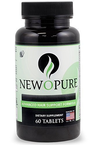 Newopure: Natural Hair Growth Vitamins, Repairs Hair Follicles, Stops Hair Loss, Blocks DHT, Stimulates New Hair Growth, Promotes Thicker, Fuller and...