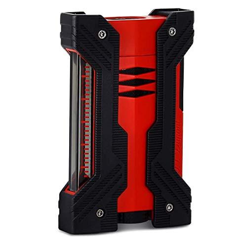 S.T. Dupont Defi XXtreme Lighter Black/Matt Red