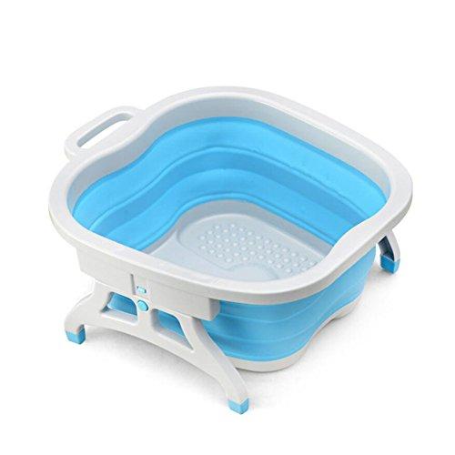 WANGXN inklapbare voet bad emmer voor huishoudelijk gebruik draagbare voet massage hoogte wassen voetbad opvouwen wastafel