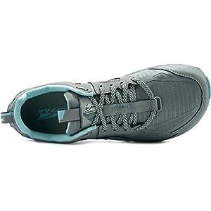 ALTRA Women's AL0A4QTX Lone Peak 4.5 Trail Running Shoe, NTRL Grey/Lt Turquoise - 7.5 M US