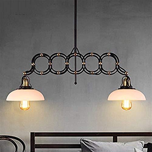Qidofan - Luces de techo con colgante simple tijeras, restaurante, bares, lámparas y farolillos, escaleras de águila, doble tijeras, personalidad creativa, salón, luz