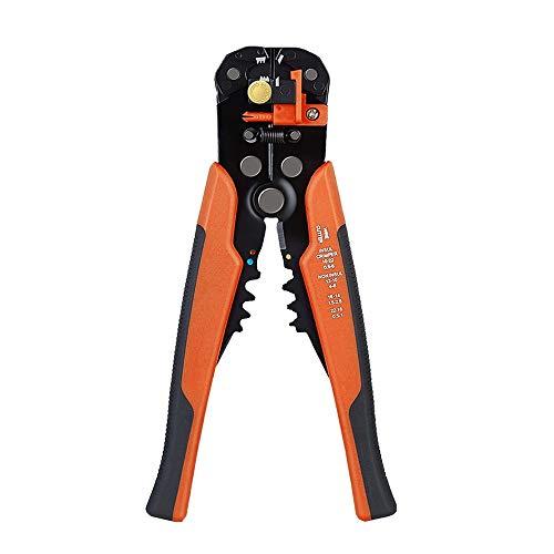 ZGQA-GQA 1PC0.5 strippers cable mm -6 mm de cizallamiento engaste máquina multifuncional pelacables automático for pelar 0.2-6mm eléctrica (Color : Orange 0.2 6)