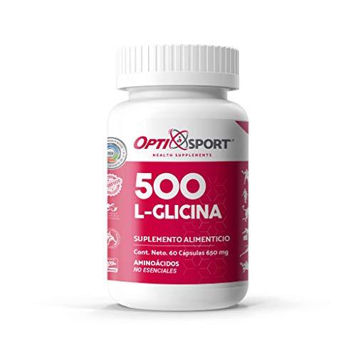 L-Glicina 500 con 60 caps.
